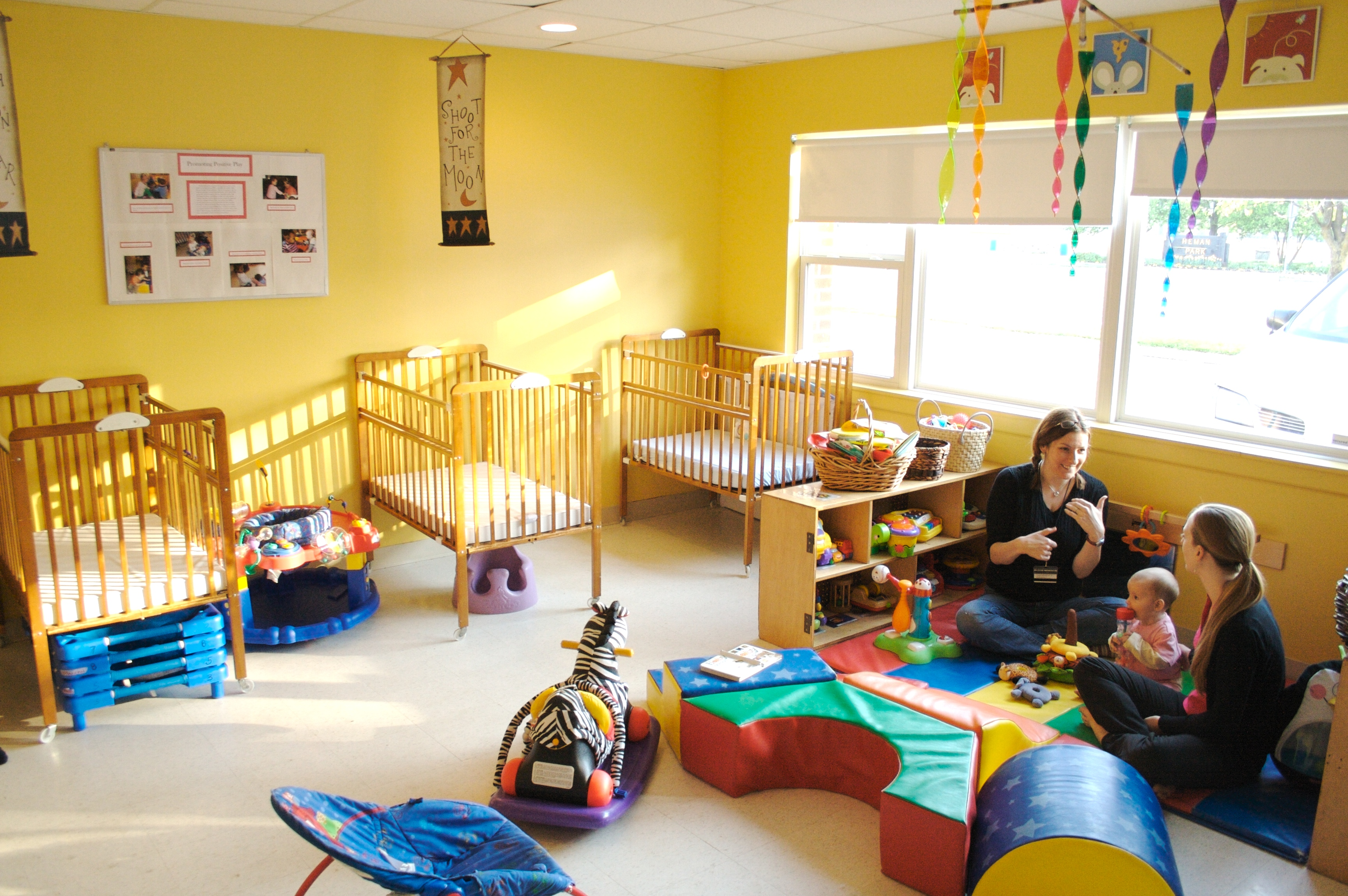 Infant Toddler Room Urban Sprouts Child Development Center